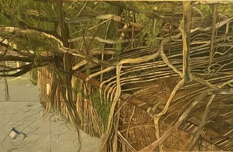Banyan Tree - 82.5x48 cm