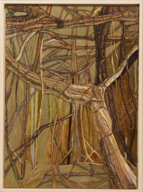 Part of Banyan tree