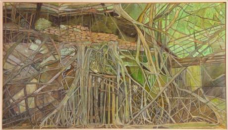 Banyan Tree in Ruins